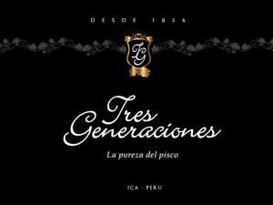 Logo Pisco Tres Generaciones