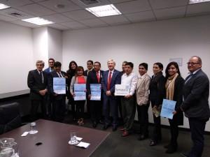 Empresarios y y representantes municipales que asistirán a Termatalia Brasil 2018
